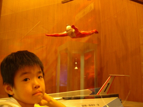飛行するセブン
