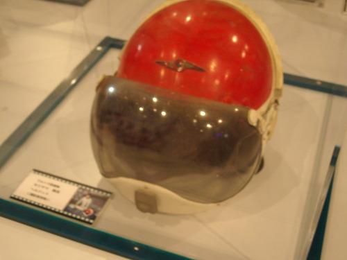 キリヤマ隊長のヘルメット